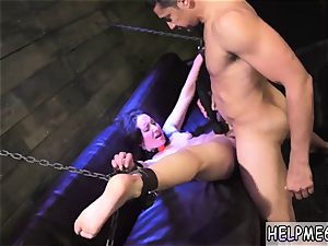 bondage youthfull helpless nubile Evelyn has been ambling for awhile.