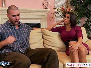 dark-haired Rachel Starr bang her successful neighbor