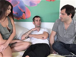 Olivia Lua tears up Her husbands junior brutha