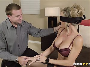 The husband of Brandi enjoy lets her penetrate a different guy