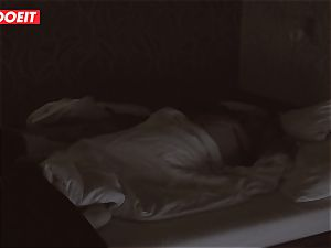 Russian honey gets pro fuck-fest to help her sleep