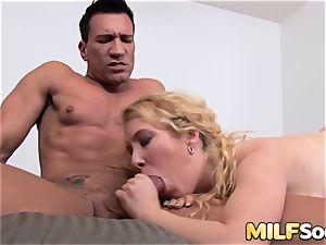 cougar Nicki Blue Gets Her lovely backside reamed