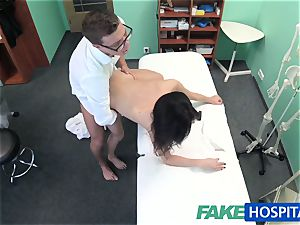 FakeHospital stunning Russian Patient needs large firm spear