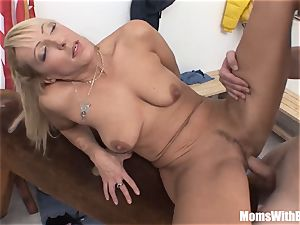 Oldie And youthful dick fucky-fucky In Dressing apartment