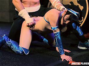 Aria Alexander completes her enemy Charles Dera