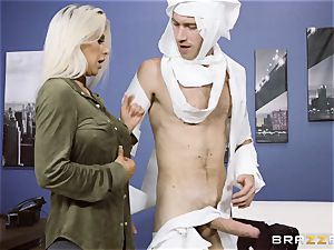 manstick luving blond Rachel Roxx getting ravaged by Danny D