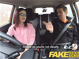 fake Driving college nubile Creampied by UK tutor