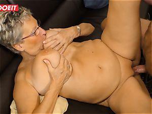 German grannie likes screwing her Neighbor #LETSDOEIT