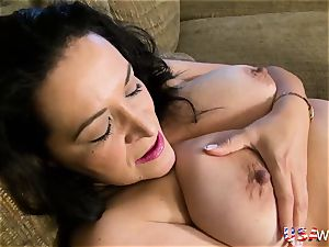 USAwives kinky plump grandmother plaything getting off