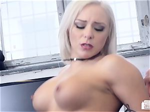 backsides BUERO - steaming office orgy with German chick