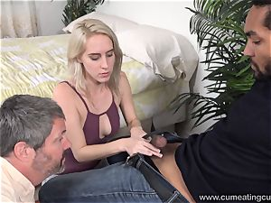 Cadence Lux Makes poon spouse munches dudes jizm