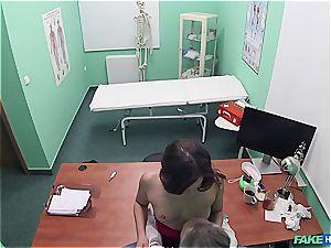 Hidden cam hookup in the doctors office