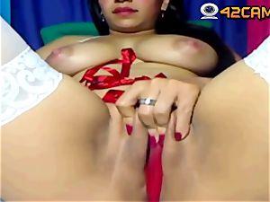 UK girl getting off on live webcam