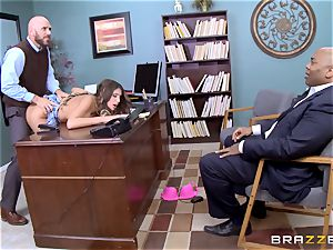delightful August Ames gets romped by the dean