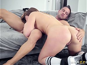 Maddy OReilly screwed hard by Johnnys stiff fuck-stick