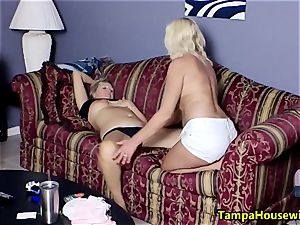 2 naughty girls with fucktoys