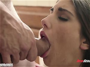 boy pulverizes the wifey of his younger bro August Ames