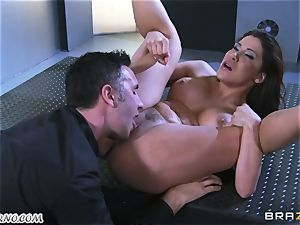 spectacular mature breezy Nicole Aniston with hefty melons gets buttfucked and splooging