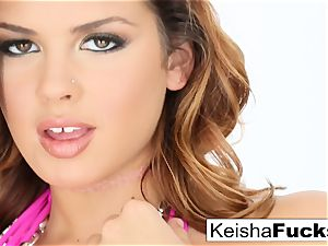 super hot sex industry star Keisha gets her humid honeypot romped