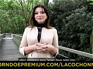 LA COCHONNE - jism in gullet and dp for Anna Polina