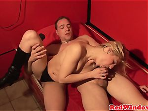 Pussynailed dutch call girl spoiling tourist