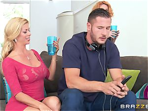 super-hot lessons in enjoy from Alexis Fawx