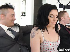 Swinger wifey Cheats in Front of husband