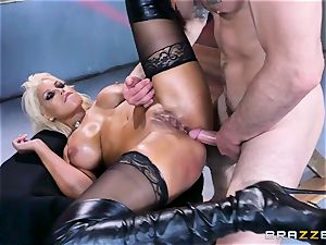 Free ass fucking attractiveness with busty Spanish senorita Bridgette B