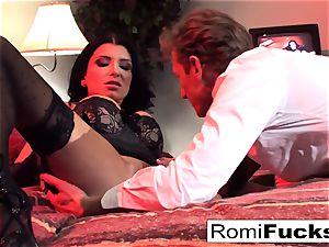 Businessman watches Vampire vid then pounds an escort
