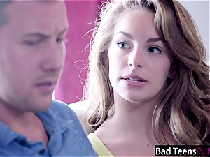 horny baby sitter Kimmy Granger Creampied By boss