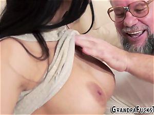nubile rails elderly gramps