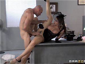 Chanel Preston craves Johnny Sins thick beef whistle