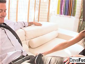 casting bed with Bradley that completes with a internal ejaculation