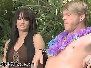 Monique Alexander is stuffed by her rocker paramour