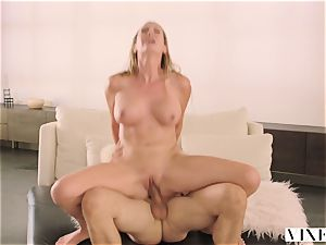 VIXEN Brett Rossi likes To Get dominated By A ginormous wood