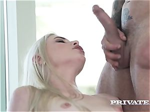 Private.com super-naughty maid in a three way