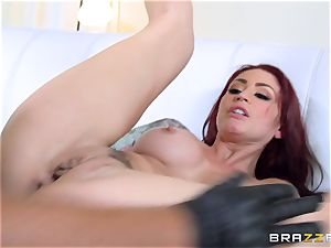 redhead wife Monique Alexander gets fucked in front of her spouse