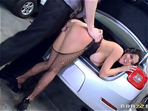 naughty mature Veronica Avluv arched over and pummeled
