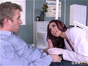 yummy dentist Monique Alexander inhales patients enormous pecker