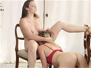 Chanel Preston and Giselle Palmer saucy all girl activity
