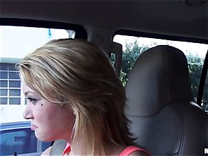 Kota Skye gets a cream-colored facial after a pick up