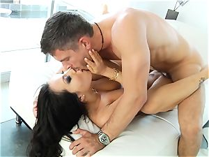 wondrous chinese Asa Akira takes an rectal bashing