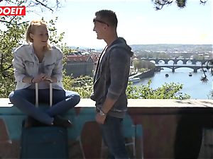 Russian babe pounded rock hard By Czech manhood - LETSDOEIT