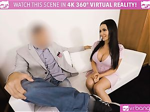 VR PORN-Hot ebony fucked rigid on valentines day stud point of view