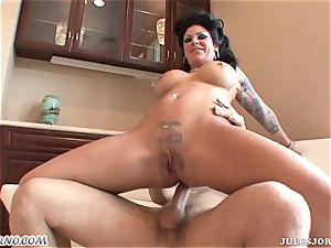 big-boobed horny mummy Mason Moore - dumping during anal invasion sex