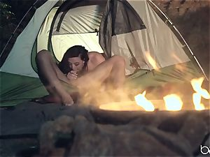 scorching camping cock sucker Whitney Wright