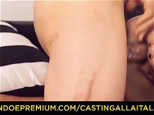 CASTNG ALLA ITALIANA - light-haired vixen tough dp sex