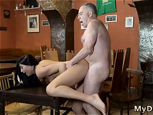 senior studs jism in nubile and wooly vagina hardcore Can you trust your girlfriend leaving her alone with your