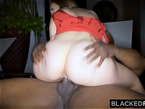 BLACKEDRAW humungous melon milky doll gets double teamed by BBCs